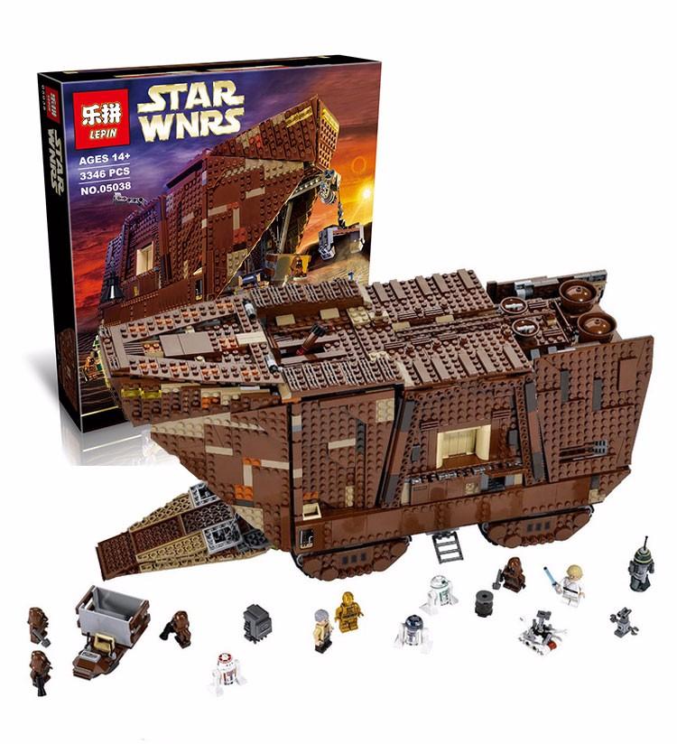 LẮP RÁP Star Wars  (lepin 05038, tương thích 75059)