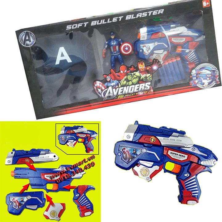 Súng bắn đạn xốp - biệt đội siêu anh hùng SB392