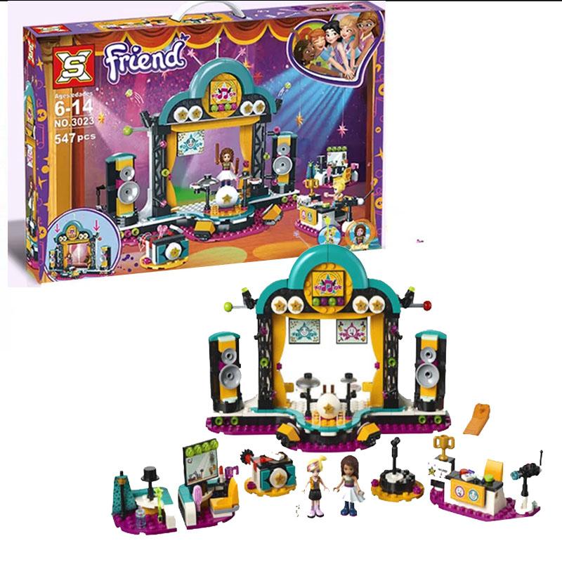 Đồ chơi lắp ráp lego friend BUỔI BIỂU DIỄN TÀI NĂNG CỦA ANDREA - SX3023