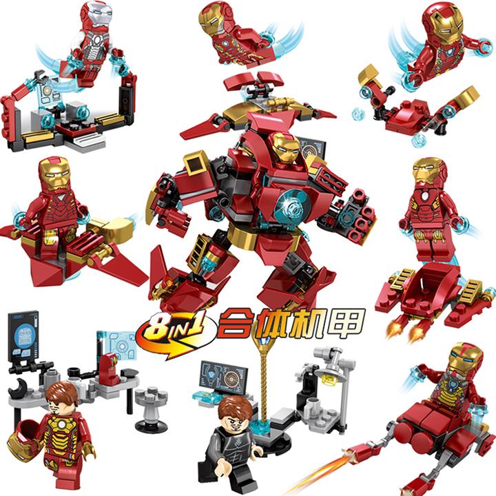 Lắp ráp super heroes - SY1001
