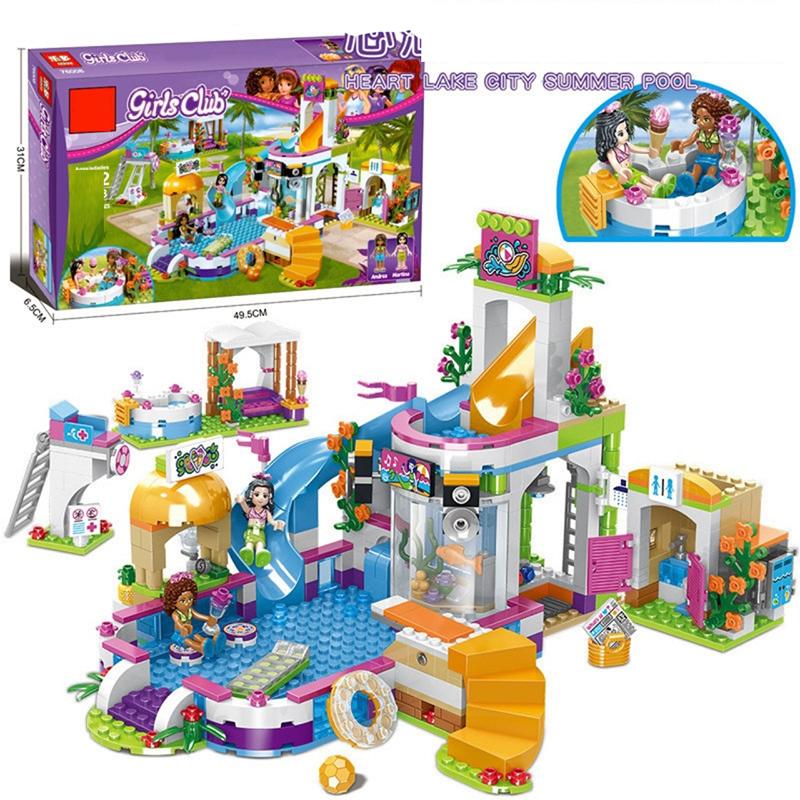 Đồ chơi Lego Friends Khu vui chơi công viên nước 768 chi tiết - SX3010