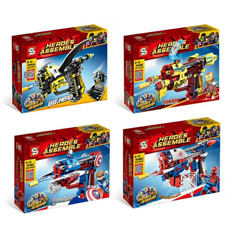 Lắp ráp Lego Herdes Assemble 229 miếng ghép - SY 7018C