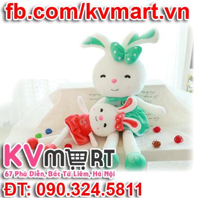 Thỏ nơ nhồi bông