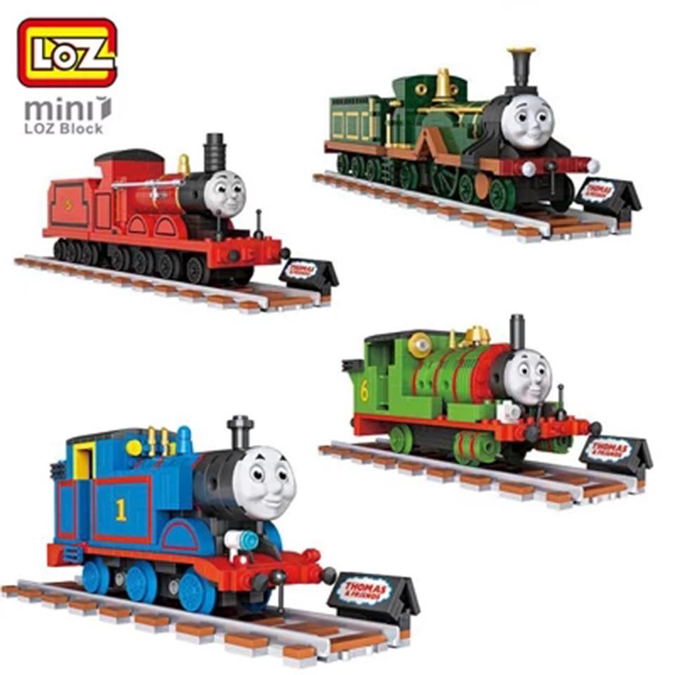 Bộ đồ chơi lắp ráp lego tàu hỏa Thomas - LoZ 1802