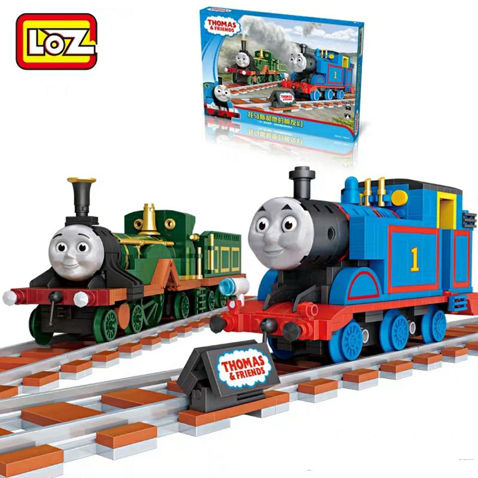 Bộ đồ chơi lắp ráp lego tàu hỏa Thomas - LoZ 1801