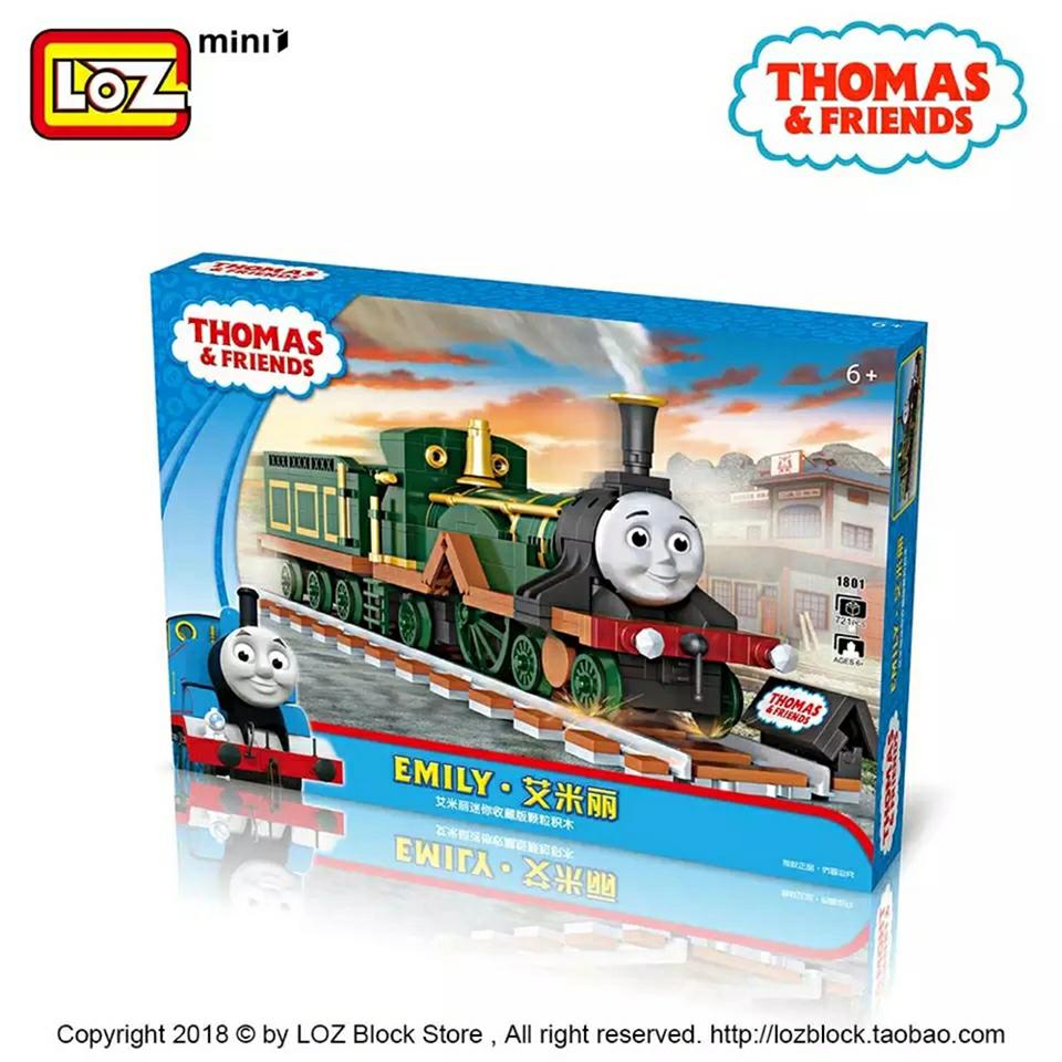 Bộ đồ chơi lắp ráp lego tàu hỏa Thomas - LoZ 1804