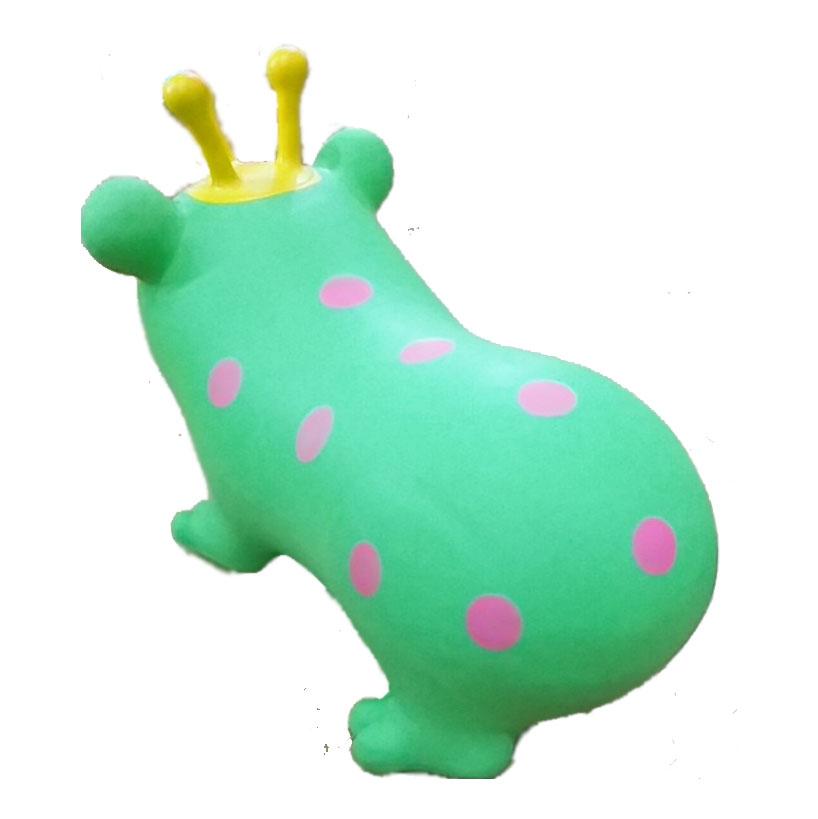 Thú nhún bơm hơi hình chú ếch ngộ nghĩnh