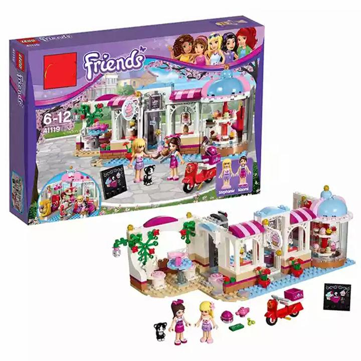 Lego Friend tiệm bánh ngọt Stella & Nicole Series - Lele 37013