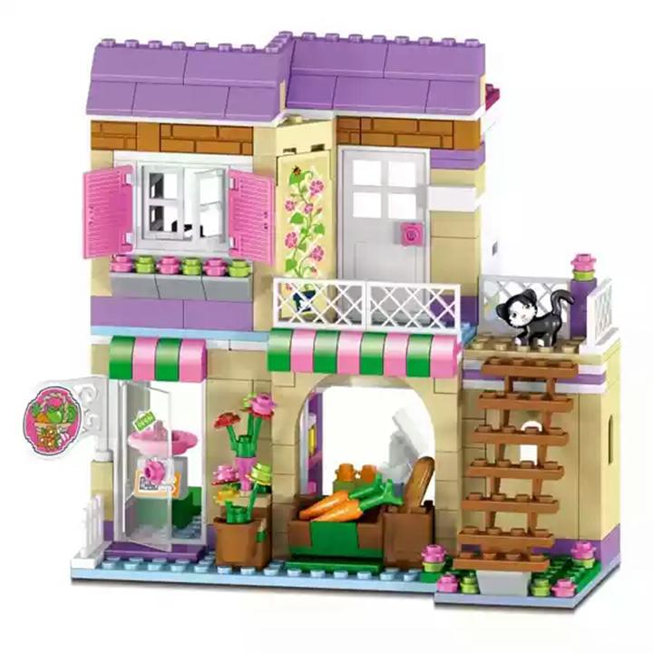 Lego Friend tiệm trái cây Stella & Nicole Series - Lele 37014