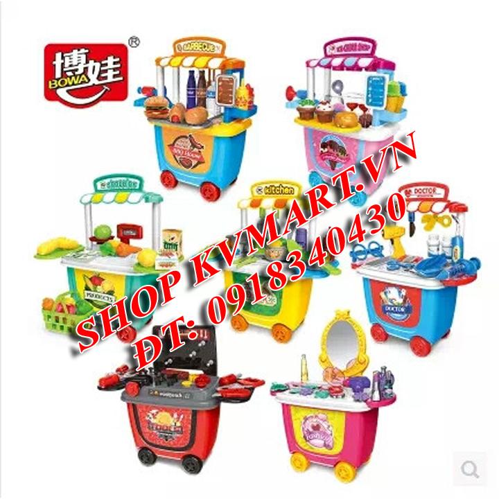 Bộ đồ chơi nấu ăn - Bowa 8026