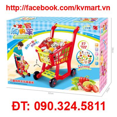 Bộ đồ chơi xe đẩy siêu thị 668-14