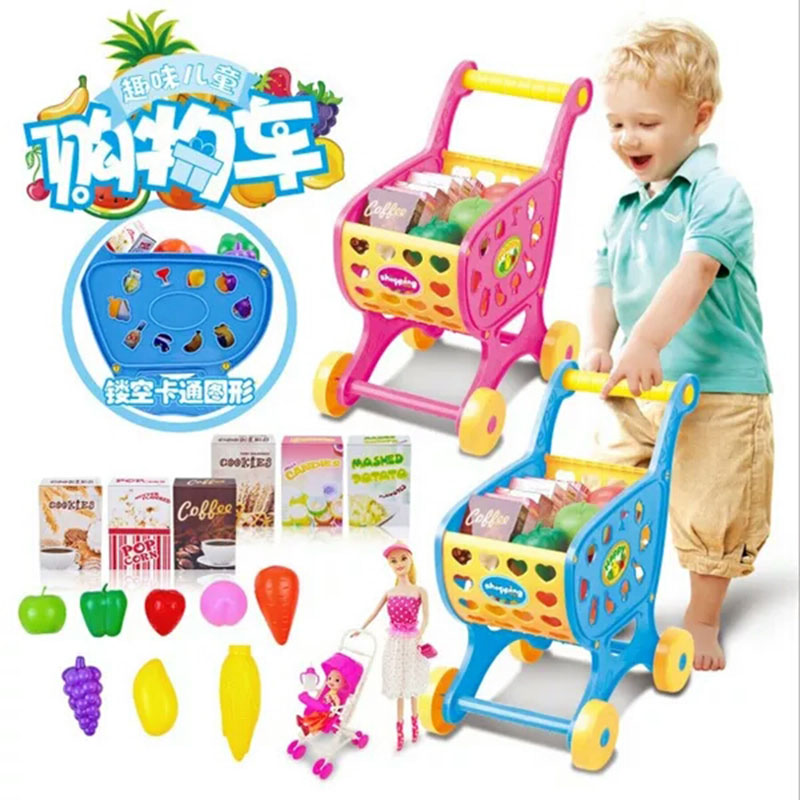 Bộ đồ chơi xe đẩy siêu thị 9639-58