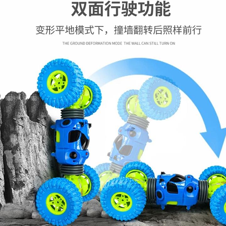 Xe ô tô địa hình 2 cầu lộn 360 độ điều khiển từ xa - 9808A83