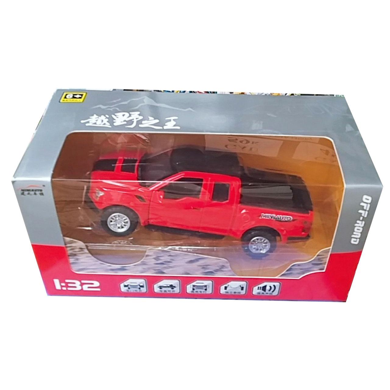 Đồ chơi mô hình xe sắt FORD F150 - Mầu đỏ