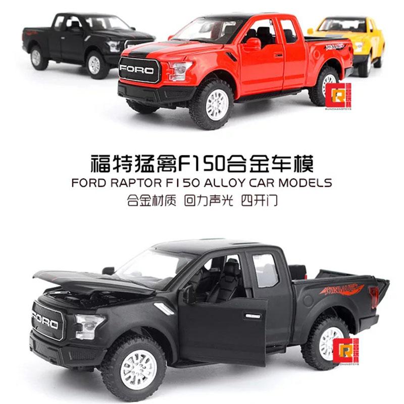 Đồ chơi mô hình xe sắt bán tải FORD F150