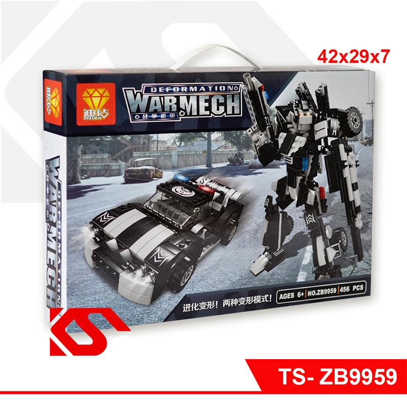 Lắp ráp lego biến hình WAR MACH 456 chi tiết - ZB9959
