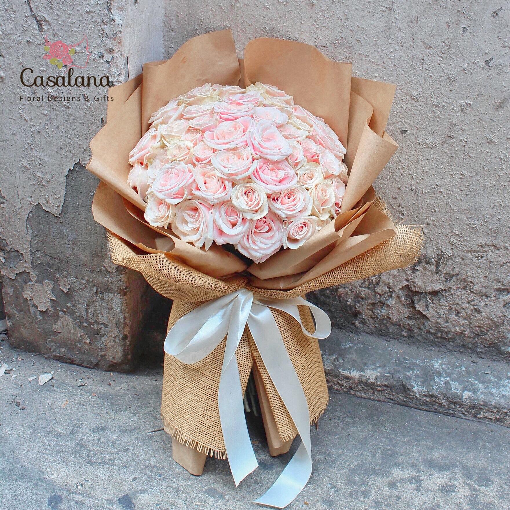 Bó Full Roses - 4 phiên bản màu