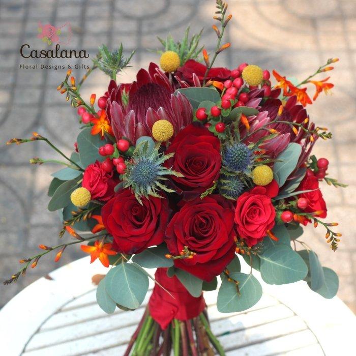 Hoa cưới C0121