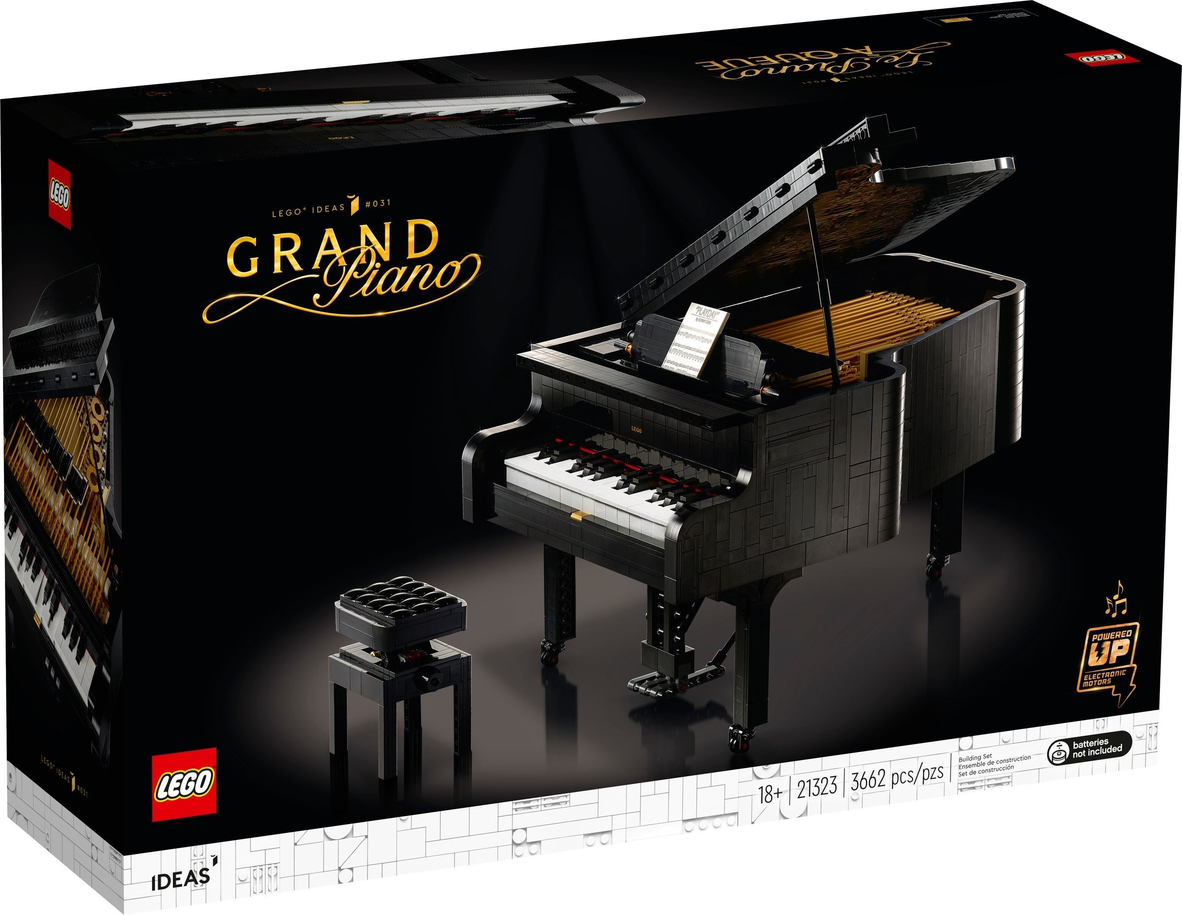 21323 LEGO Ideas Grand Piano,
