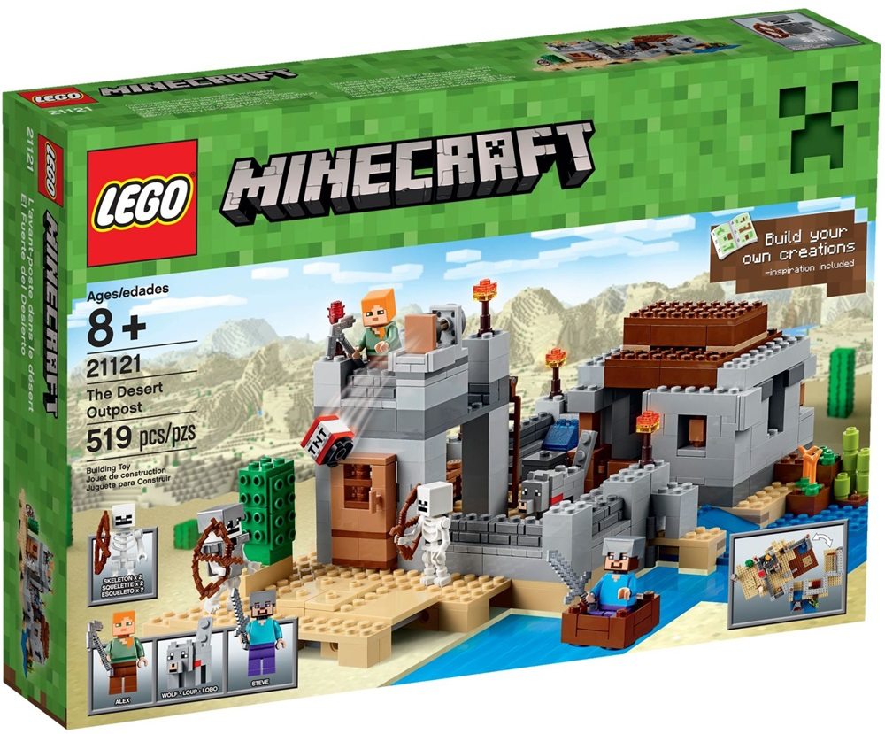 21121 LEGO® MineCraft™ The Desert Outpost (New)