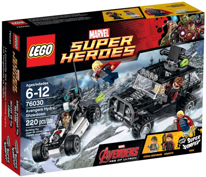 76030 LEGO® Duel with Hydra