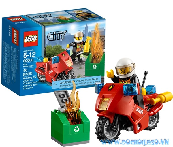 60000 LEGO® City Fire Motorcycle (2013)