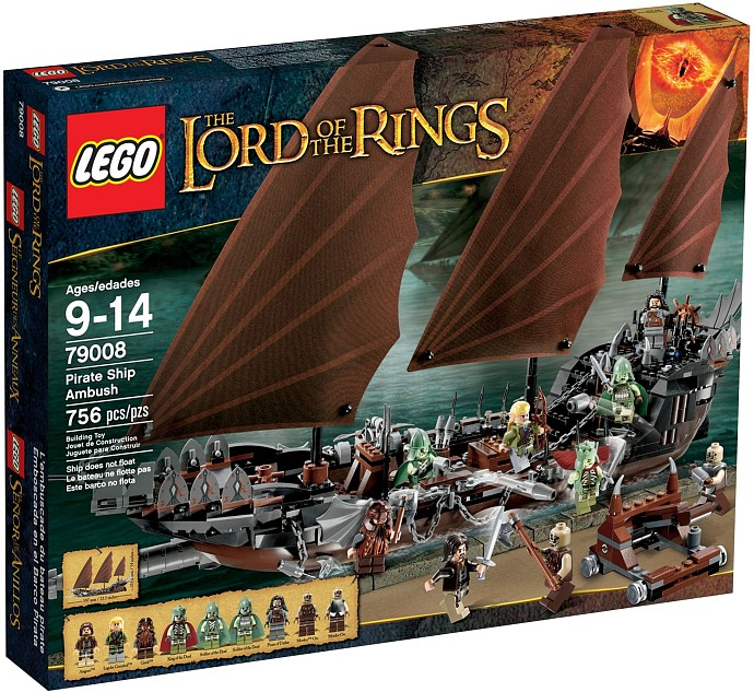 79008 LEGO® LORD OF THE RINGS Pirate Ship Ambush