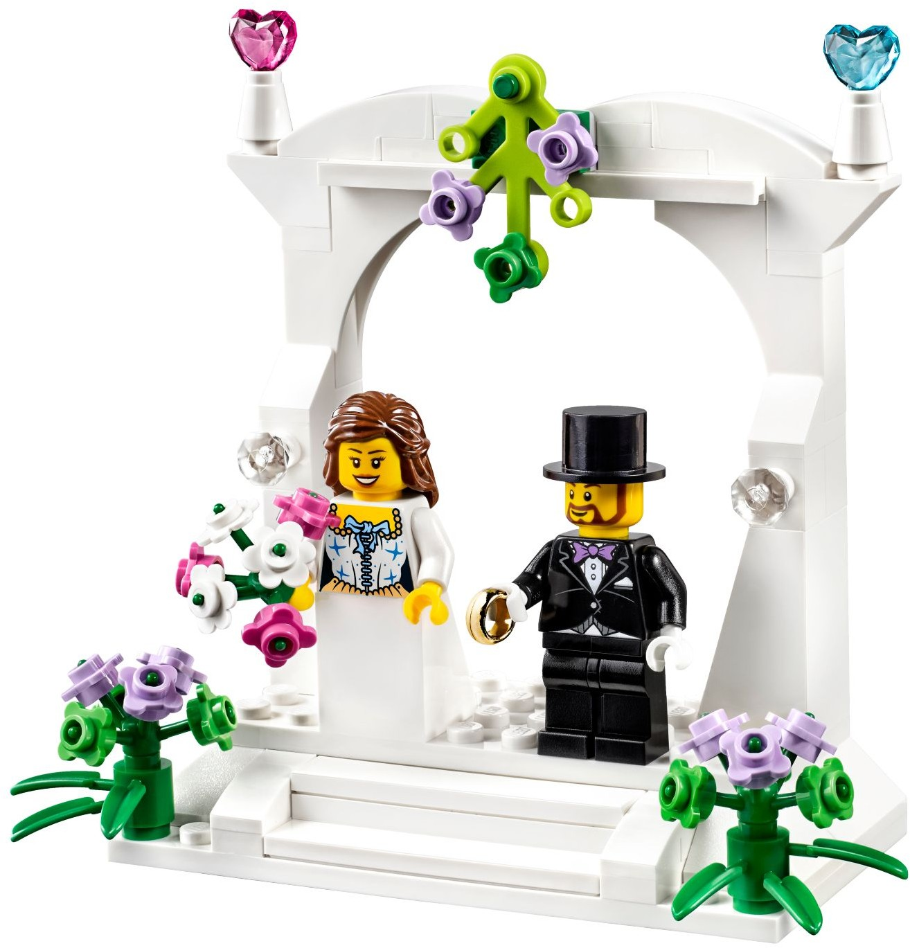 40165 LEGO® Minifigure Wedding Favour Set (2016)
