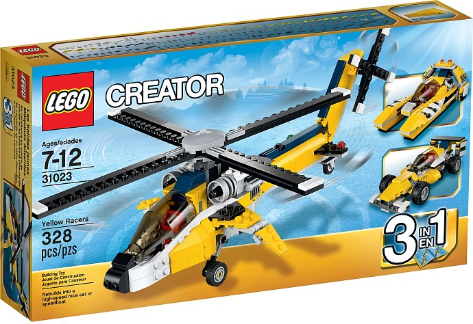 31023 LEGO® CREATOR Yellow Racers