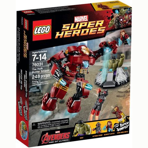 76031 LEGO® The Hulk Buster Smash