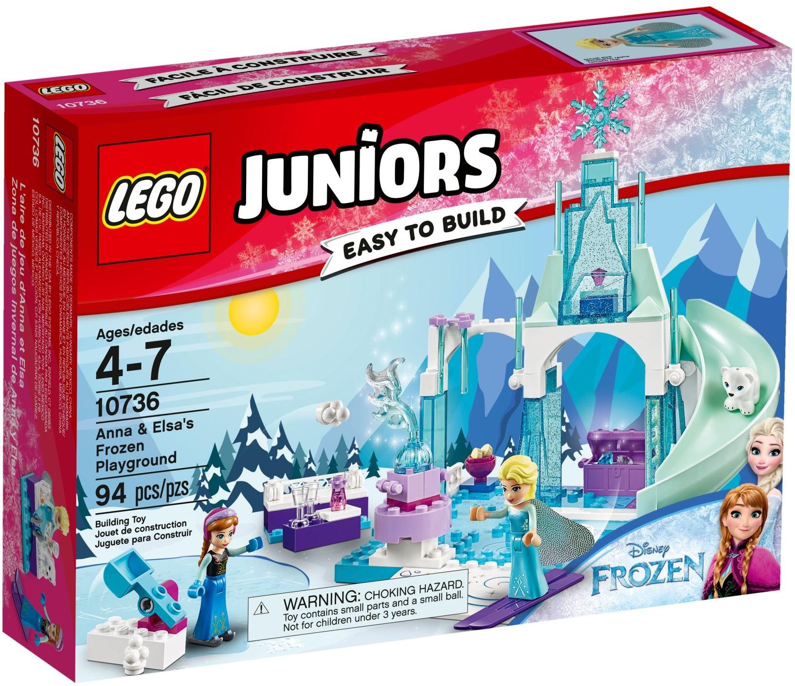 10736 LEGO Juniors Anna & Elsa's Frozen Playground