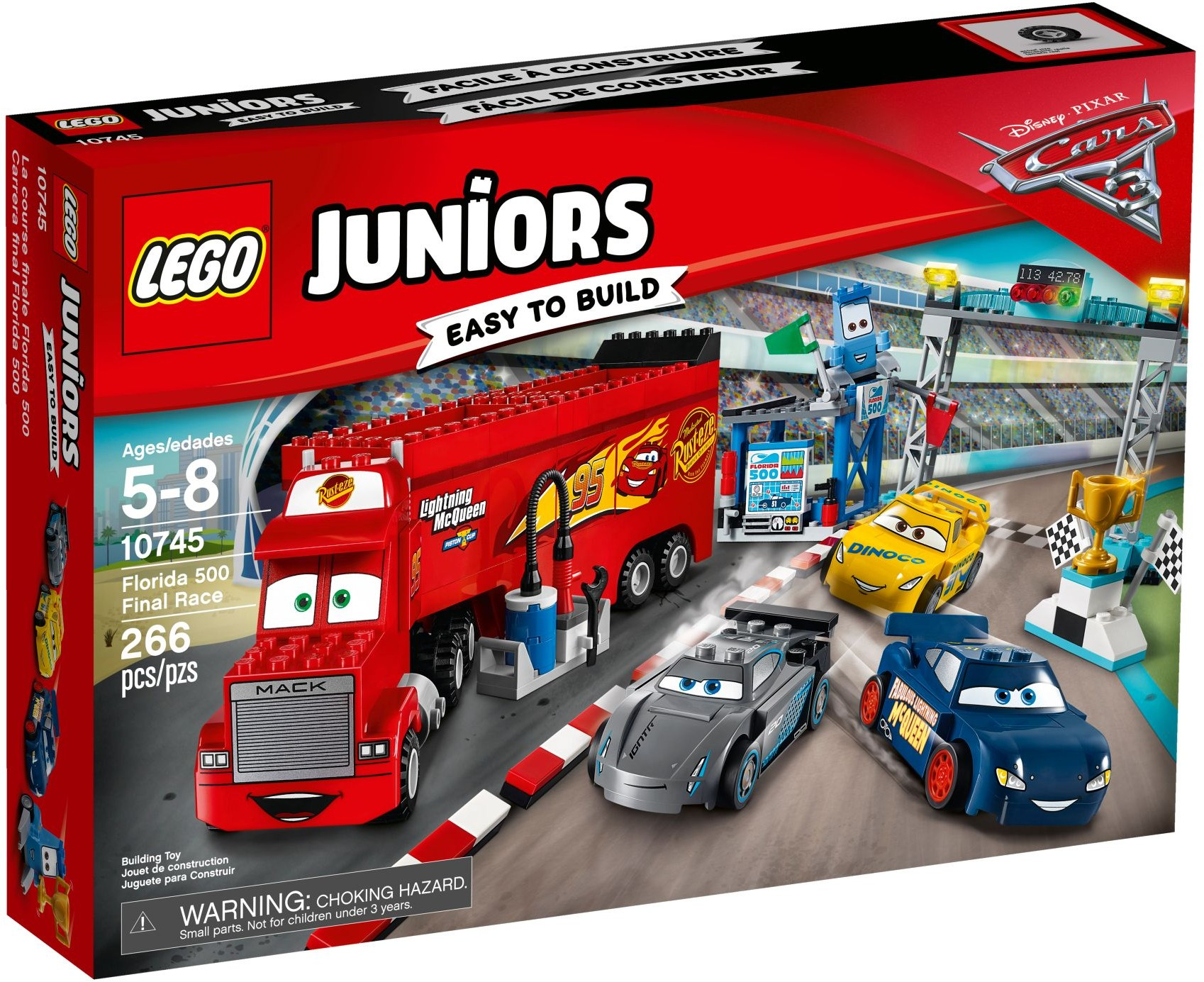 10745 LEGO Juniors  Florida 500 Final Race