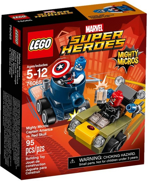 76065 LEGO® Super Heroes Captain America vs. Red Skull