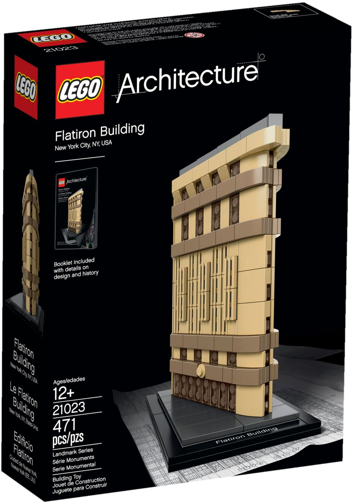 21023 LEGO® Flatiron Building, New York(năm 2015)