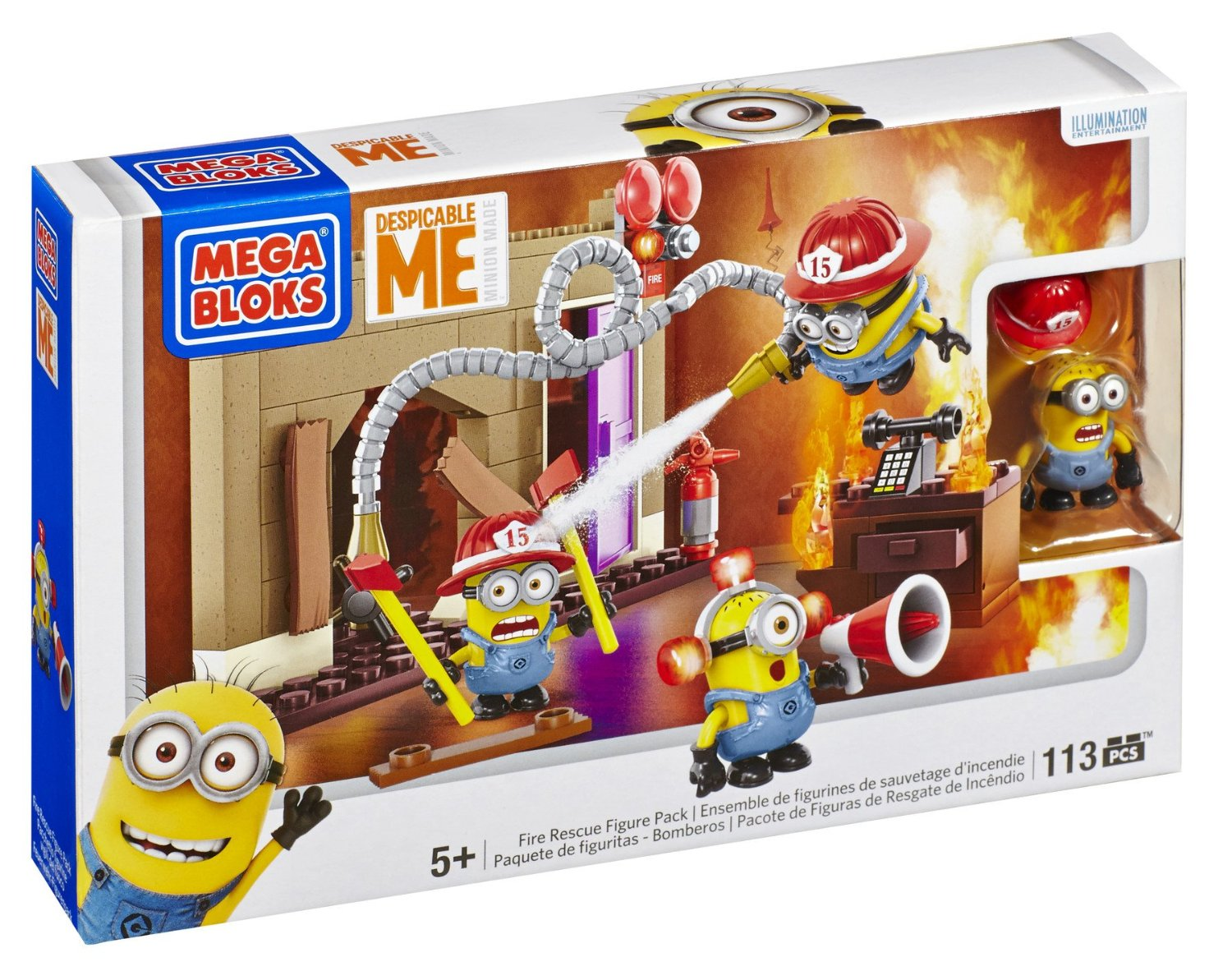 Mega Bloks Despicable Me Fire Rescue
