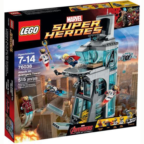 76038 LEGO® Attack on Avengers Tower