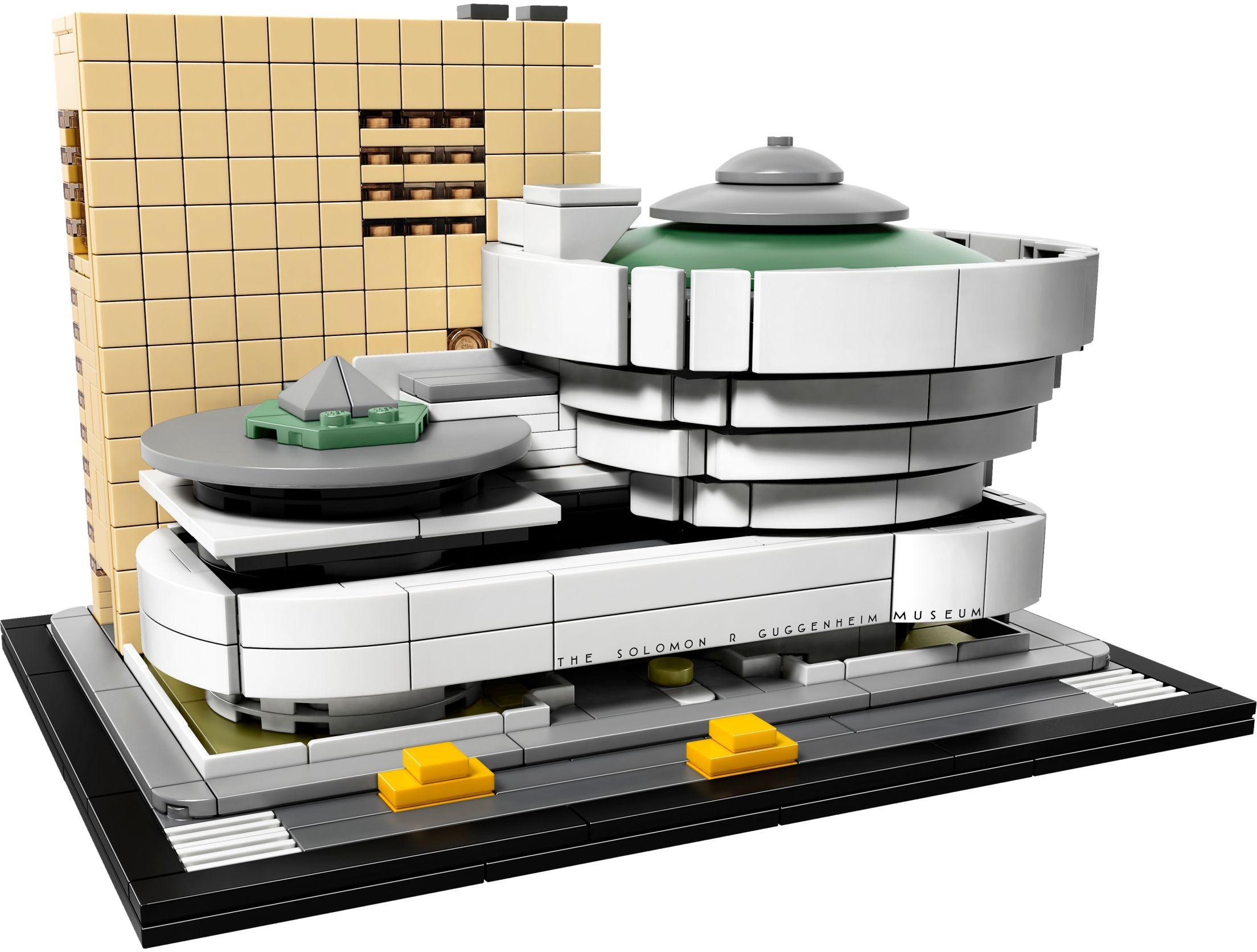 21035 LEGO Architecture Solomon R. Guggenheim Museum - Viện Bảo Tàng Solomon R. Guggenheim
