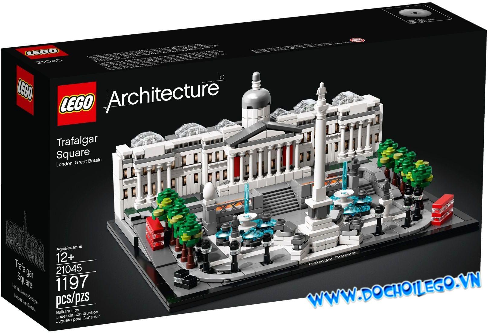 21045 LEGO ARCHITECTURE Trafalgar - Quảng Trường Trafalgar