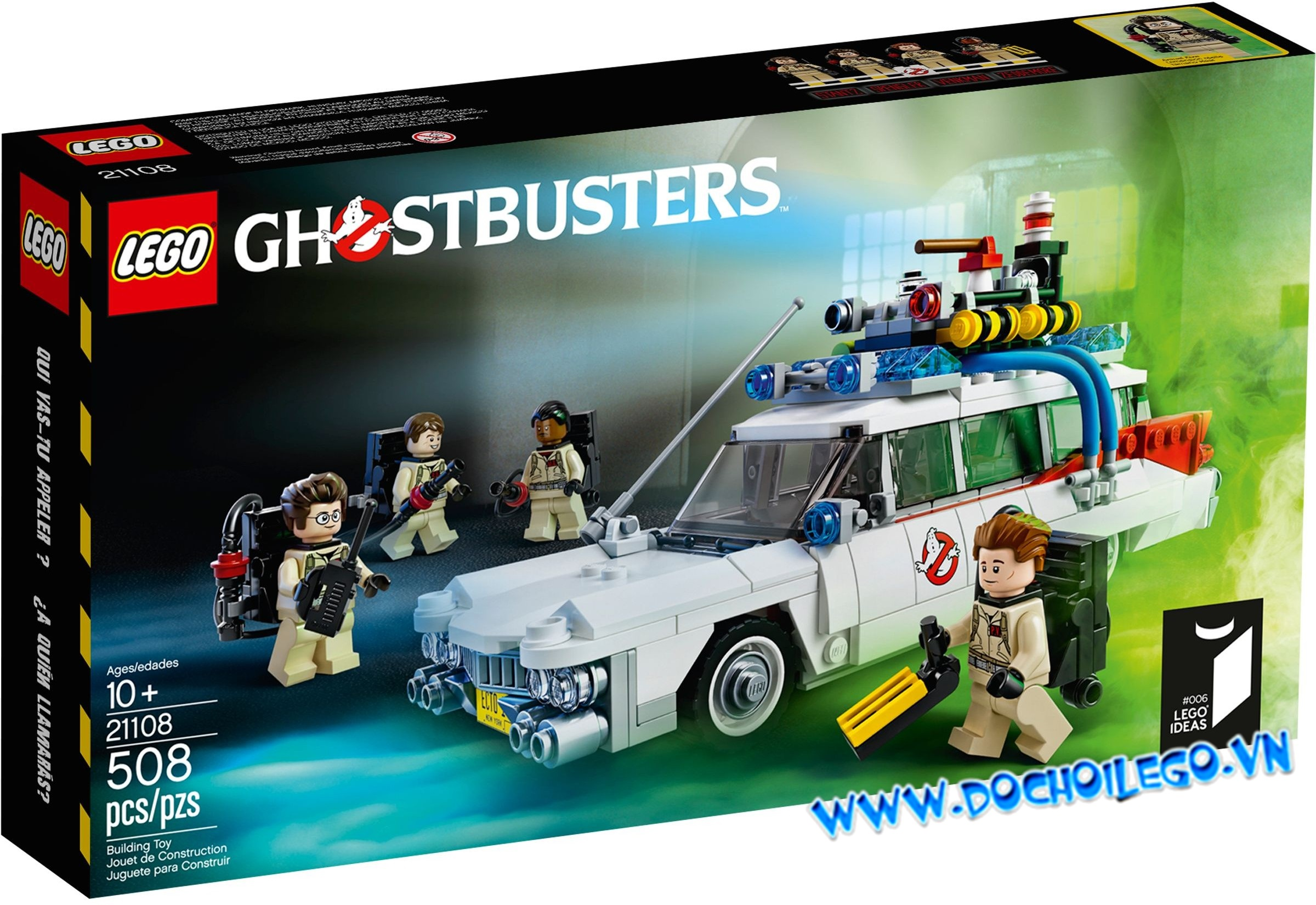21108 LEGO® IDEAS Ghostbusters Ecto-1