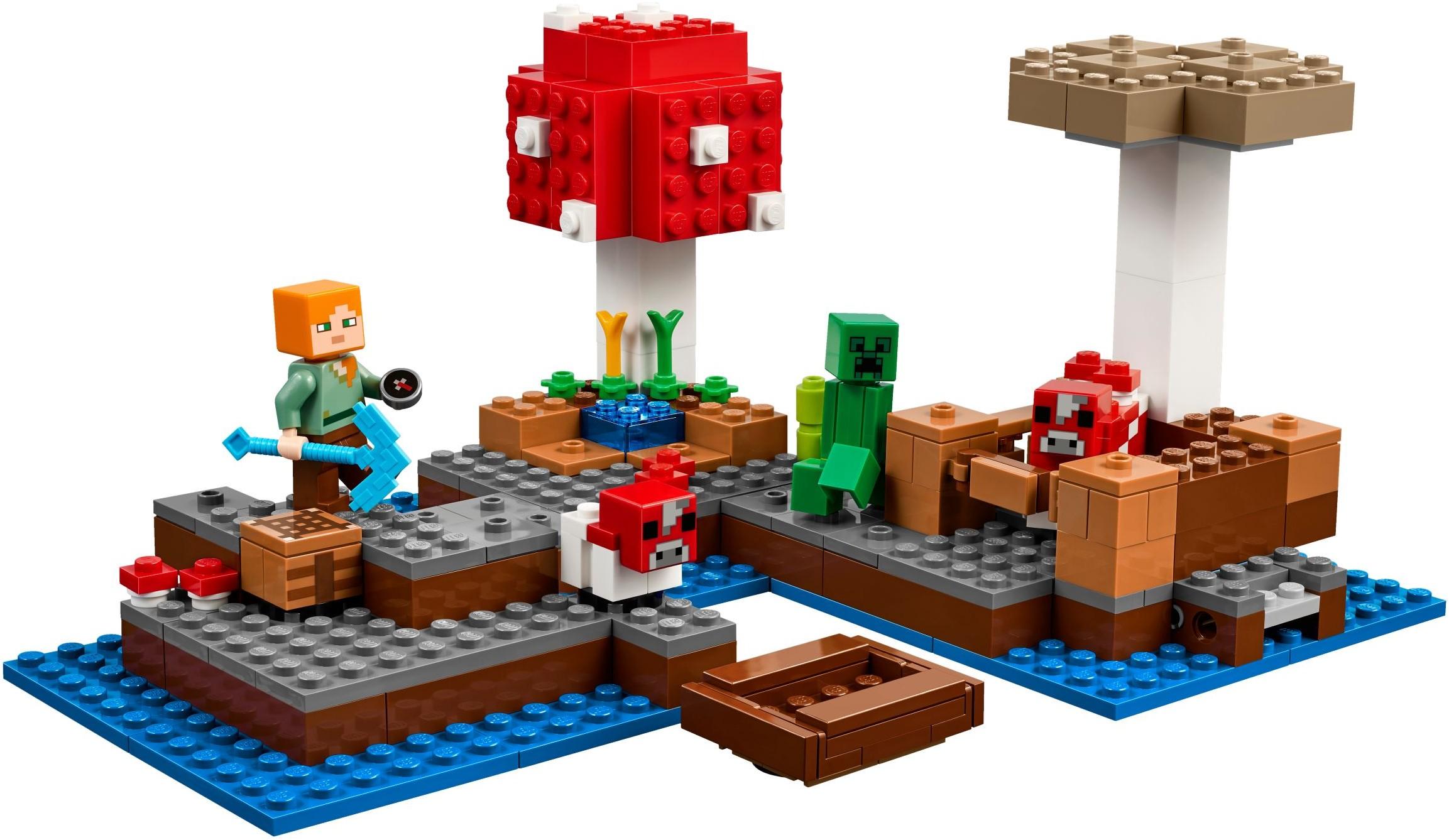 21129 LEGO Minecraft™ The Mushroom Island