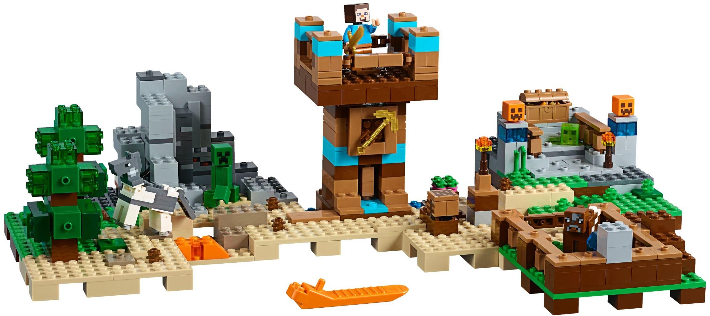 21135 LEGO Minecraft™ LEGO Minecraft the Crafting Box 2.0