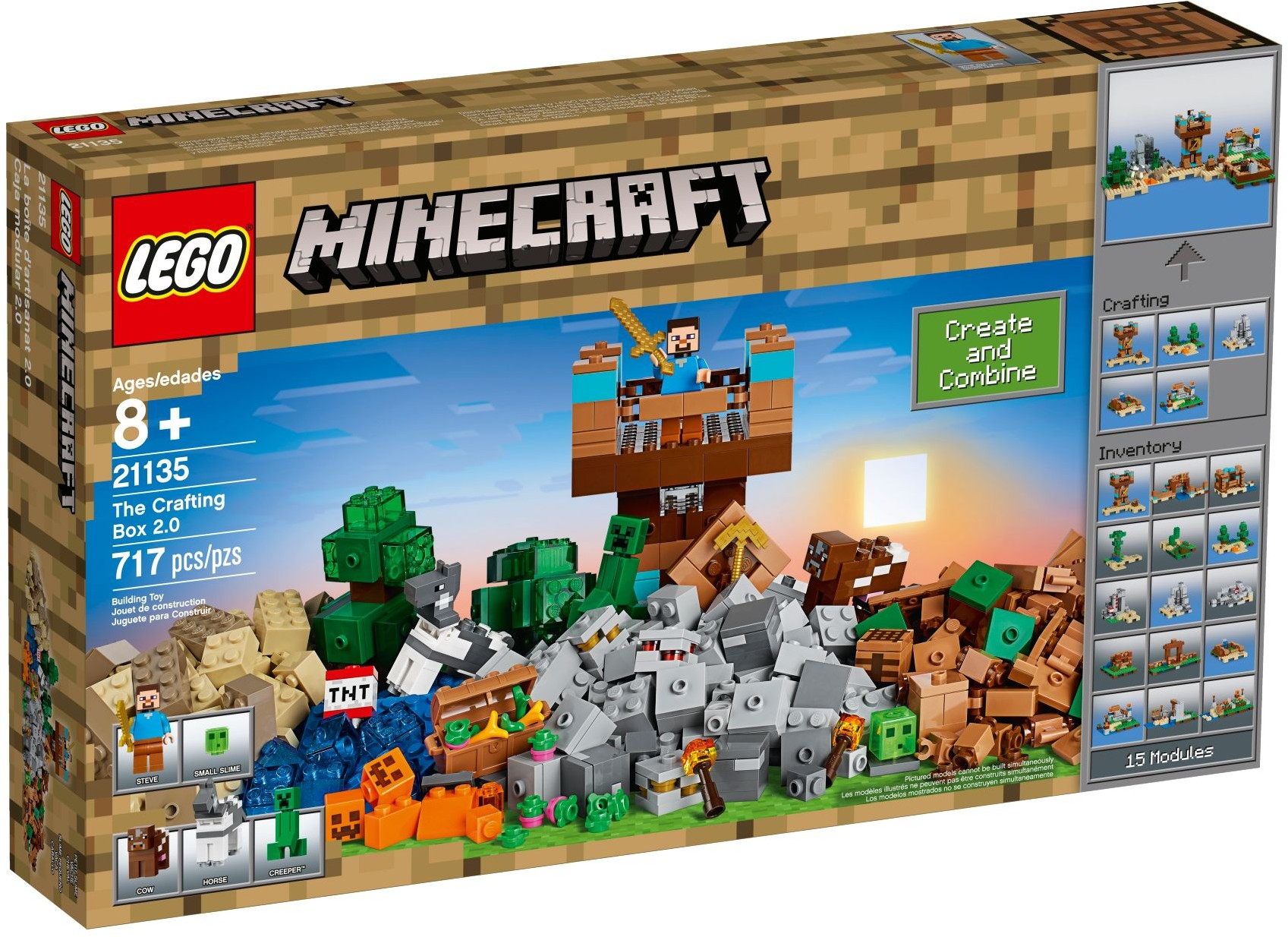 21135 LEGO Minecraft™ LEGO Minecraft the Crafting Box 2.0