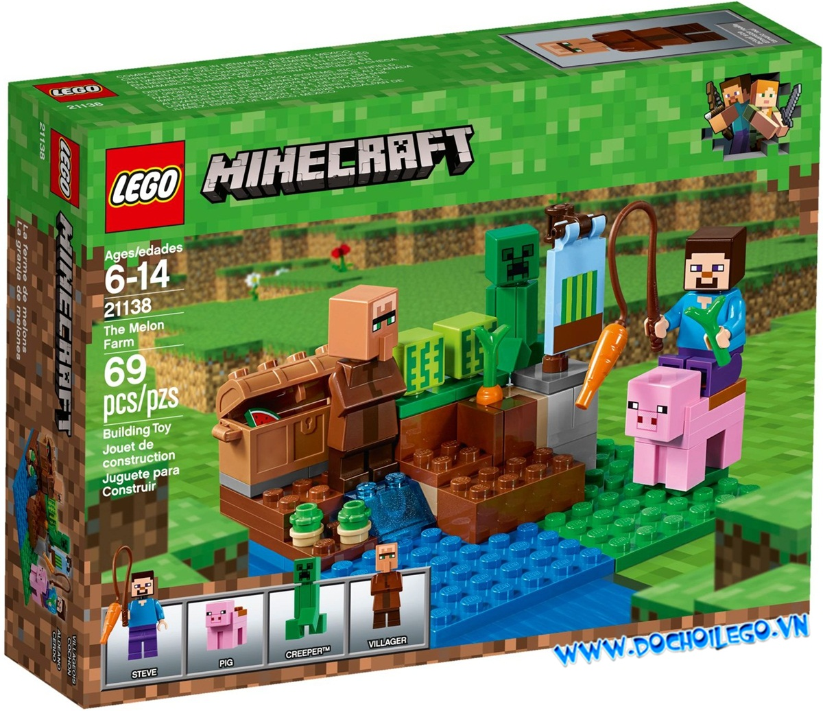21138 LEGO Minecraft™ The Melon Farm (2018)