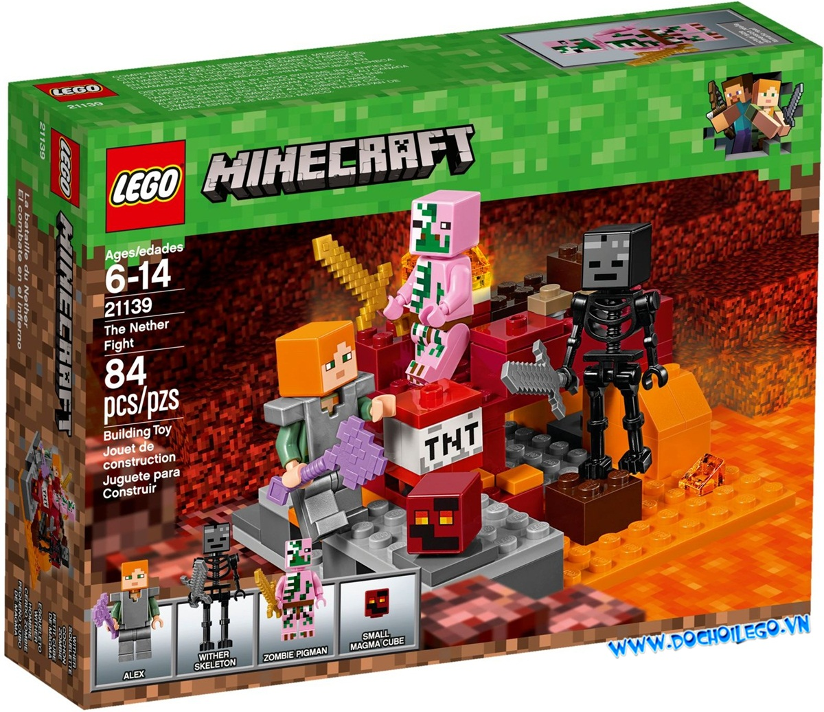21139 LEGO Minecraft™ The Nether Fight  (2018)
