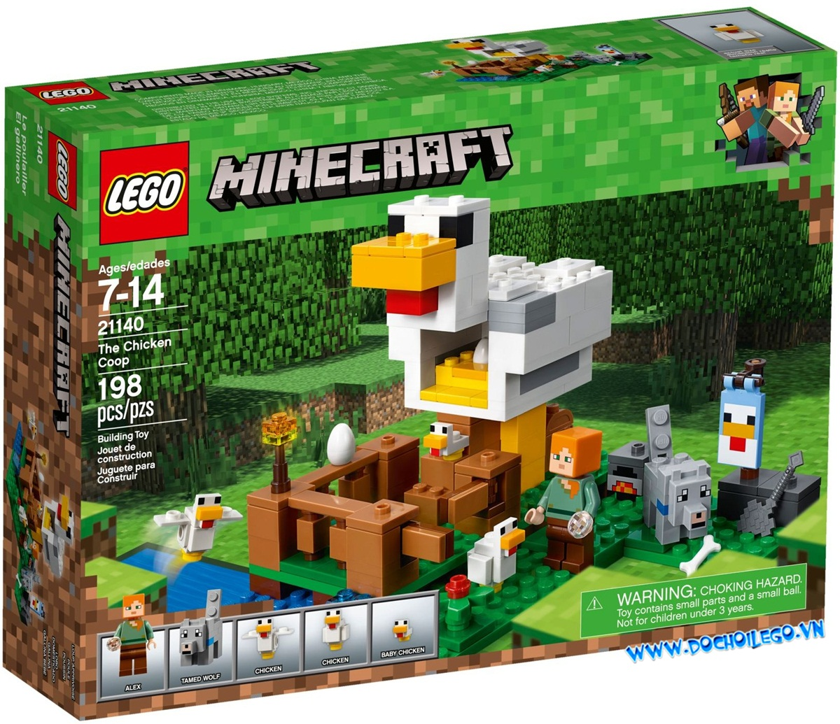 21140 LEGO Minecraft™  The Chicken Coop