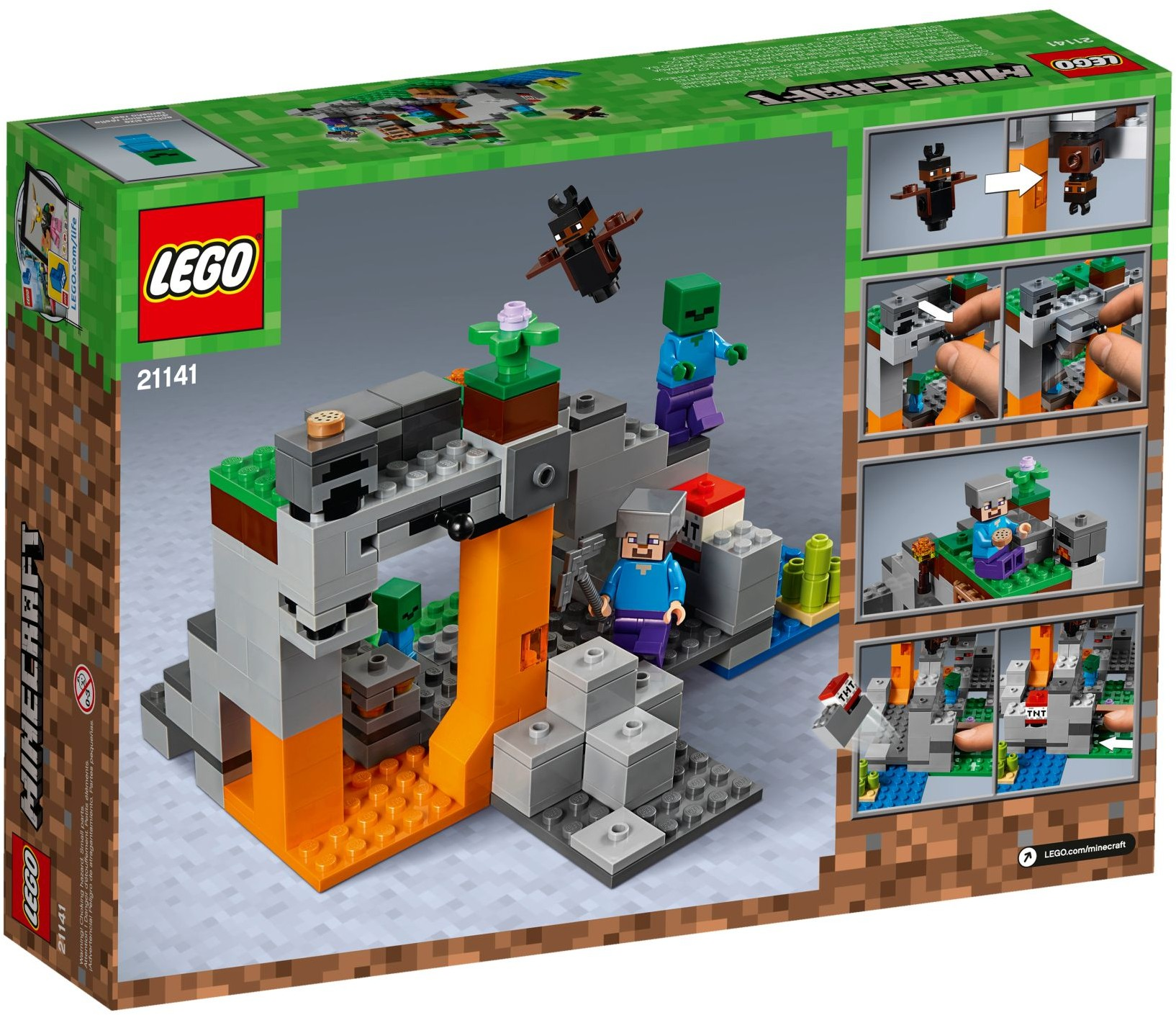 21141 LEGO Minecraft™ the Zombie Cave