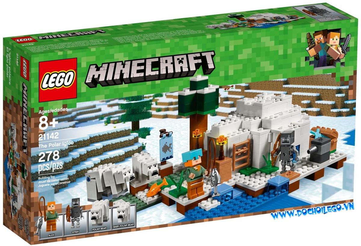 21142 LEGO Minecraft™ LEGO Minecraft the Polar Igloo