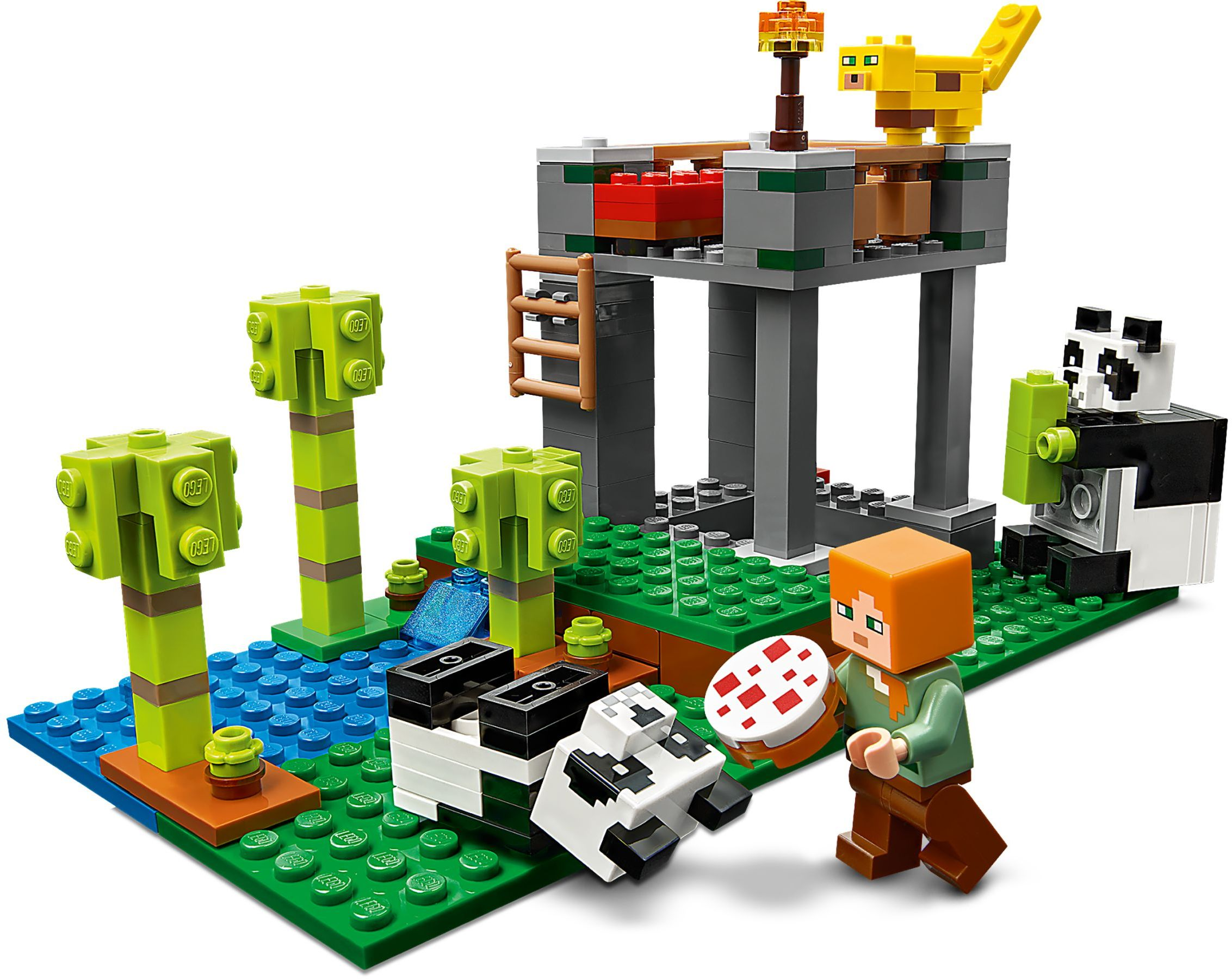 ❤️  21158 LEGO minecraft The Panda Nursery - Nơi nuôi dưỡng chú gấu Panda