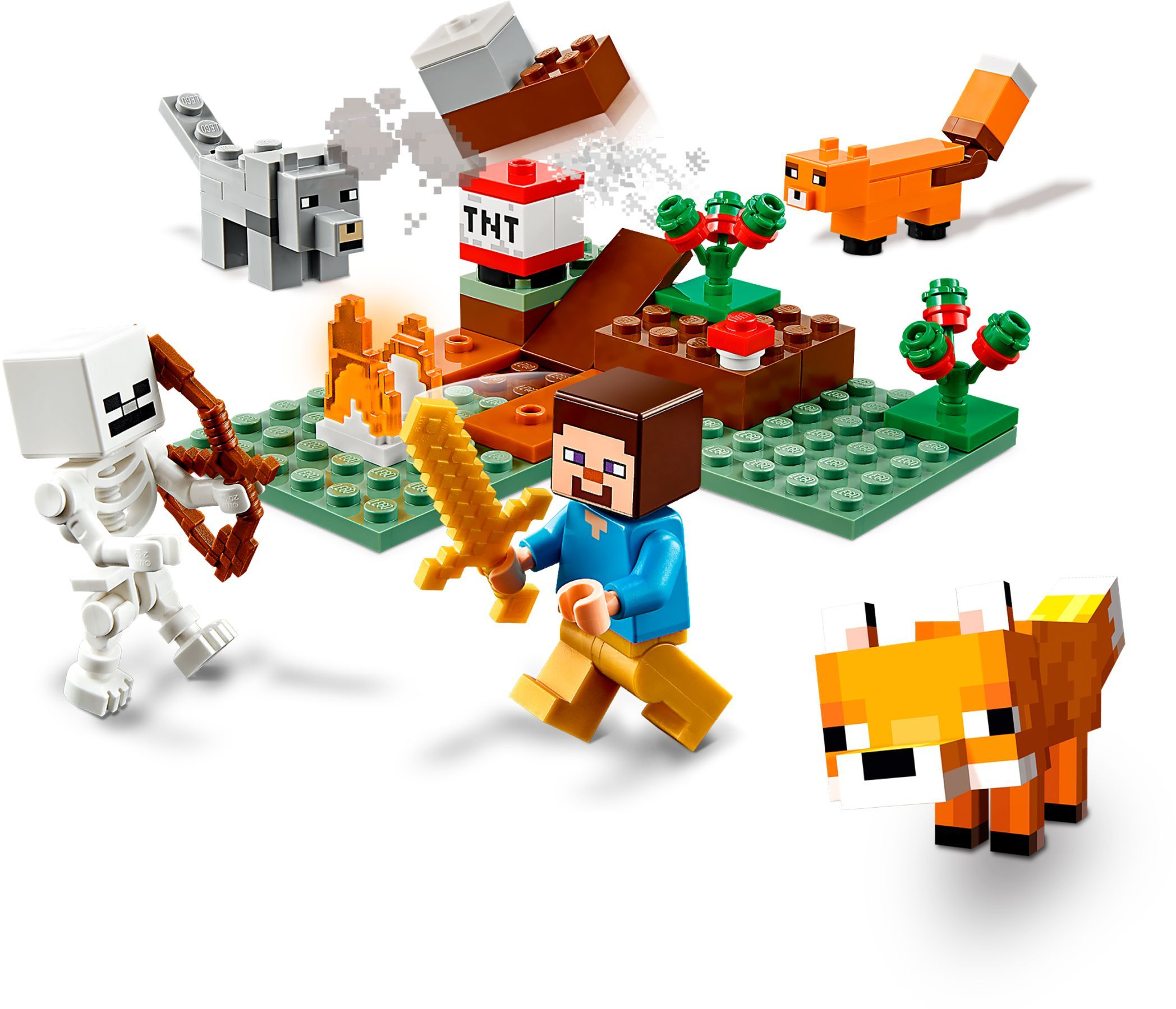21162 LEGO Minecraft The Taiga Adventure