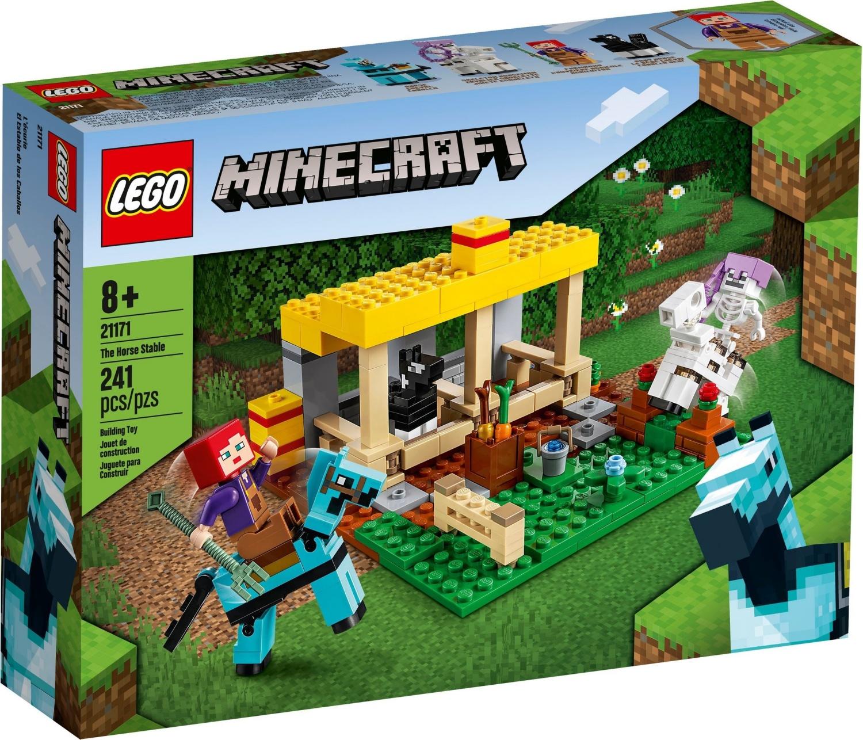 21171 LEGO Minecraft The Horse Stable - Bộ xếp hình Chuồng ngựa
